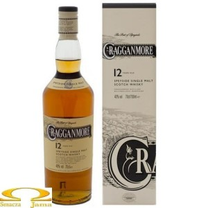 Whisky Cragganmore 12 Years Old 0,7l