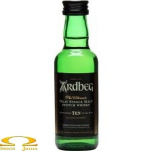 Whisky Ardbeg 10 Years Old miniaturka 0,05l
