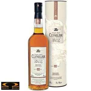 Whisky Clynelish 0,7l w tubie