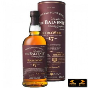 Whisky Balvenie 17 Years Old Double Wood w tubie 0,7l