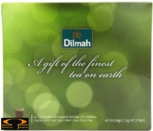 Herbata Dilmah A gift of the finest tea on earth (zielona)- 40 torebek