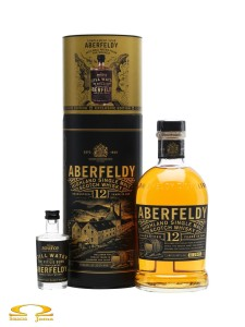 Whisky Aberfeldy Still Water 12 YO Exclusive Edition 0,7l + Woda 0,05l
